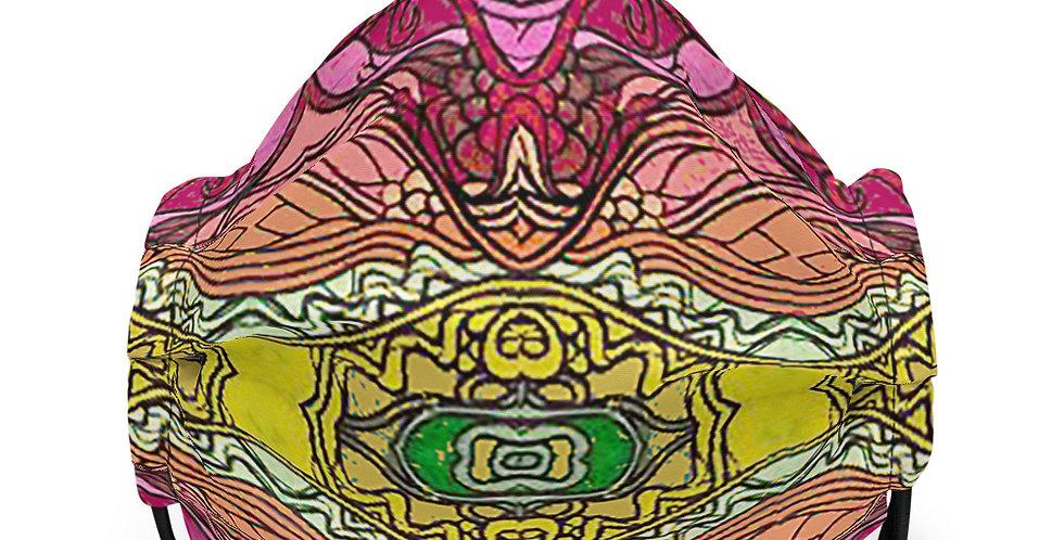 Premium face mask Tribal Fusion
