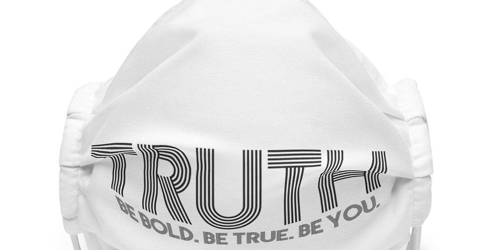 Premium face mask- Truth Signature Logo