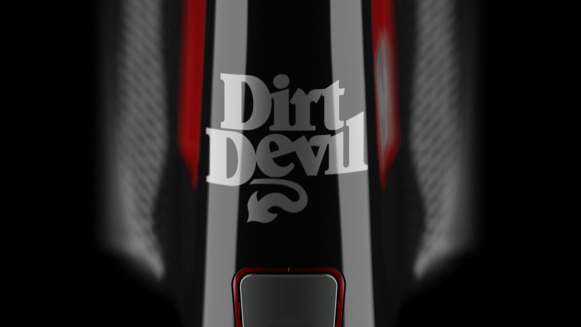 Dirt Devil 3D animation