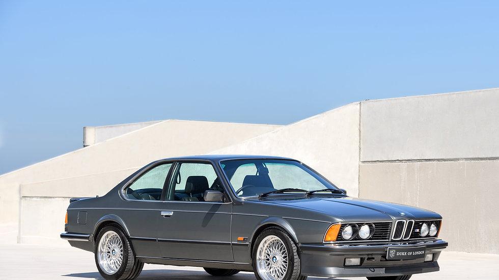 1986 BMW M635 CSi E24