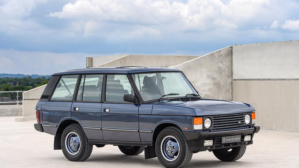 1990 Range Rover Vogue