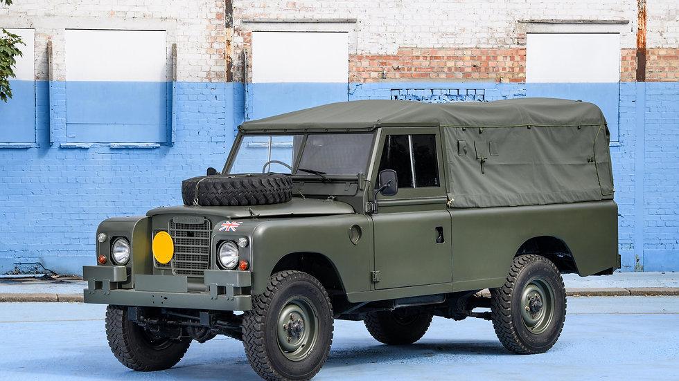 1972 Land Rover Series III 3 109 ex British Military Army