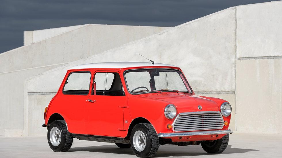 1968 Austin Mini Mark 2 1000 Saloon Red Manual