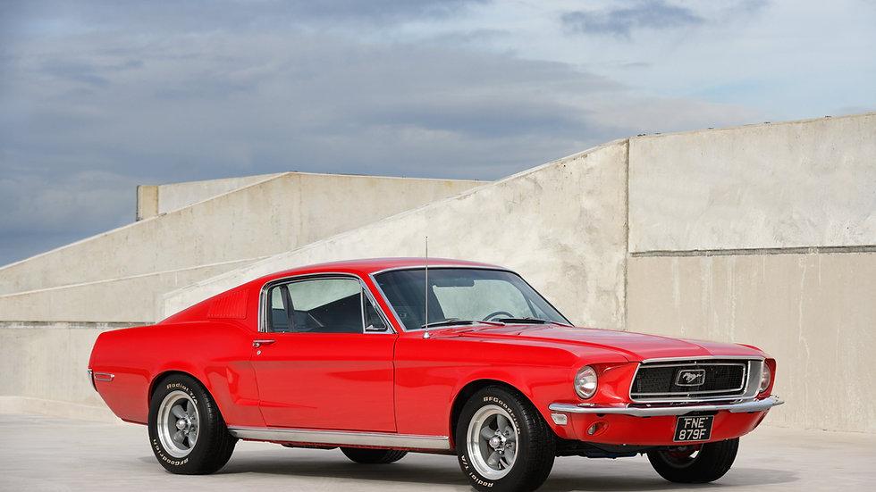 1968 Ford Mustang Fastback 289 V8 Auto Fully Restored UK Registered