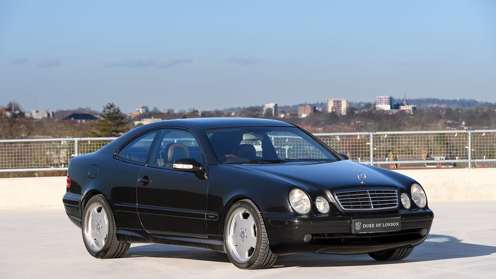 2001 Mercedes-Benz CLK55