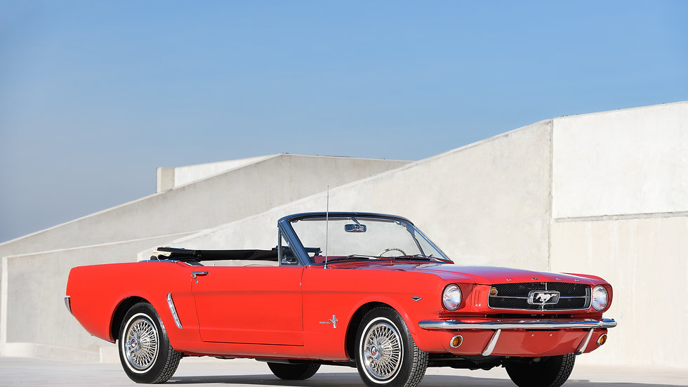 1964.5 Ford Mustang V8 Convertible 260 - Concours winner