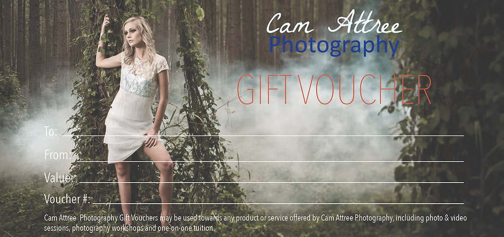Cam Attree Photography Gift Voucher