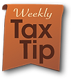 weekly tax tip