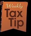 weekly tax tip