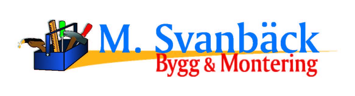 M. Svanbäck Bygg & Montering Ab