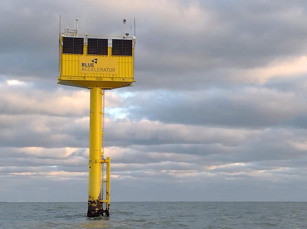 Blue Accelerator maritime innovation and development platform.