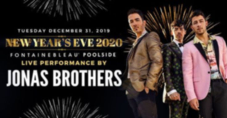 Jonas Brothers at Fontainebleau Miami Be