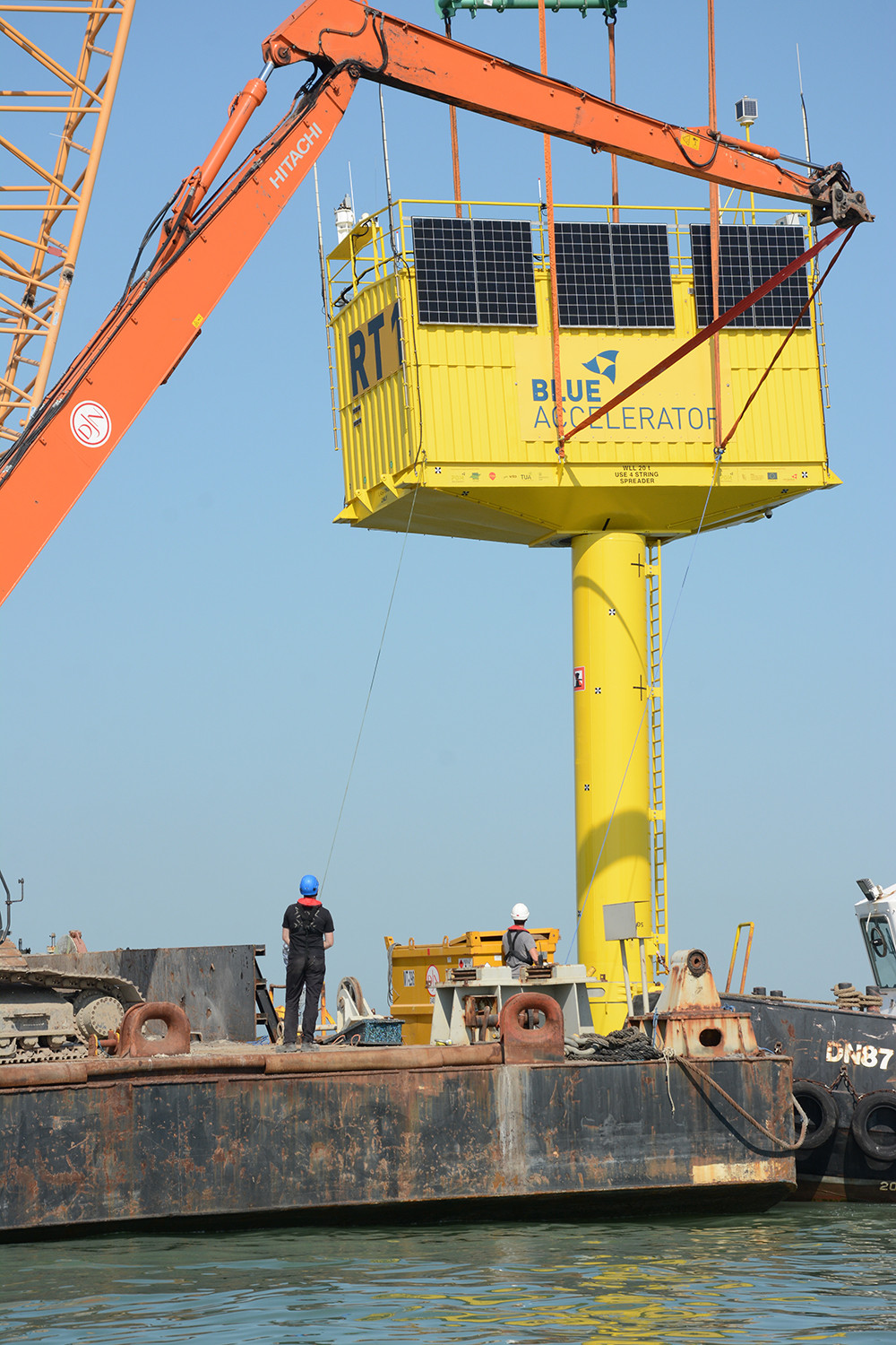 The container was re-installed on 18 September 2020.