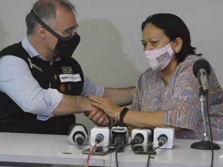 Ministro da Justiça visita RN e anuncia repasse de R$ 26,7 milhões para segurança pública no estado