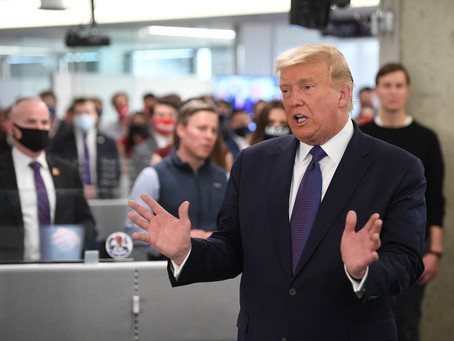 ELEIÇÕES NOS EUA: 'Acho que vamos ter uma ótima noite', diz Trump