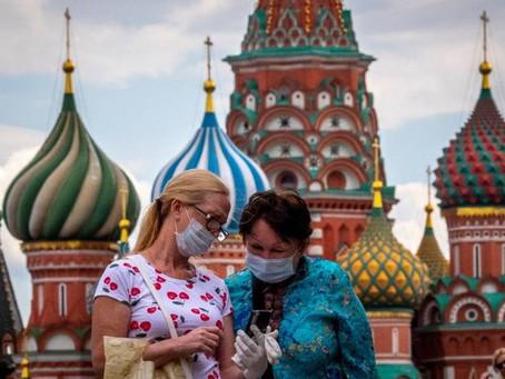 Após testes, Rússia diz que aplicará vacina contra covid-19 em outubro
