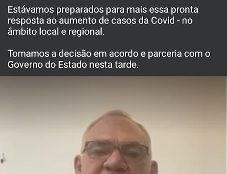 Prefeito de São Gonçalo do Amarante anuncia reabertura do Hospital de Campanha
