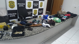 Criminosos são presos pela PM após roubo a chácara em Francisco Dantas/RN
