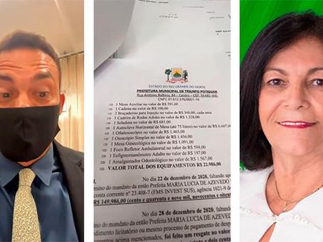 Styvenson aciona MPF para investigar destino de 150 mil em Triunfo Potiguar