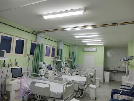 Ocupação de leitos críticos supera 80% em 10 hospitais do RN; 6 batem 100%