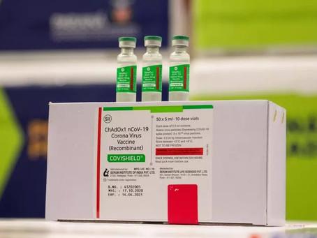 Voo com 2 milhões de doses de vacinas decola da Índia com destino ao Brasil