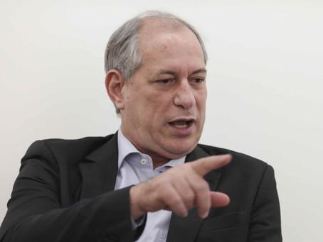 'Minha tarefa é derrotar o PT no primeiro turno', diz Ciro Gomes