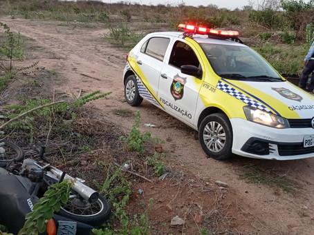 Agentes de trânsito e GTO recuperam nesta segunda duas motos roubadas em Mossoró