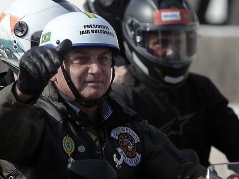 Doria multa Bolsonaro por não utilizar máscara em SP