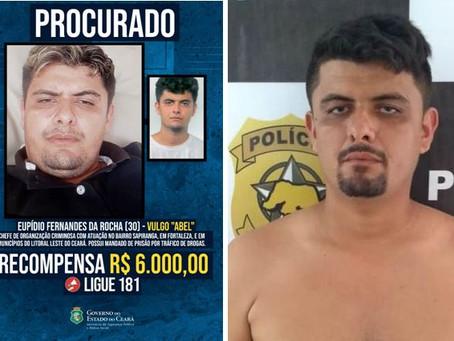 Um dos criminosos mais procurados do Ceará é Preso pela Polícia Civil no Rio Grande do Norte