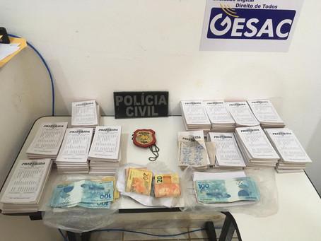 Polícia Civil prende homem por promover jogos de azar em Baraúna/RN