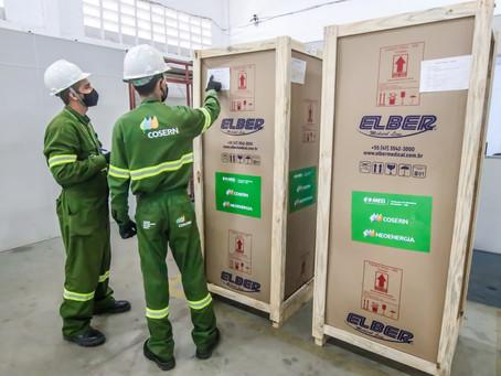 Cosern entrega 97 refrigeradores para vacinas ao Governo e Prefeituras do RN