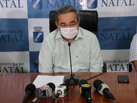 Prefeito de Natal recomenda Fátima instalar hospital de campanha