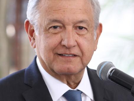 Presidente do México diz que testou positivo para a Covid-19