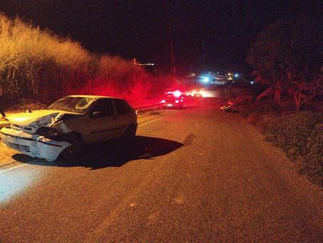 Acidente com duas vítimas fatais na entrada da cidade de Venha Ver/RN