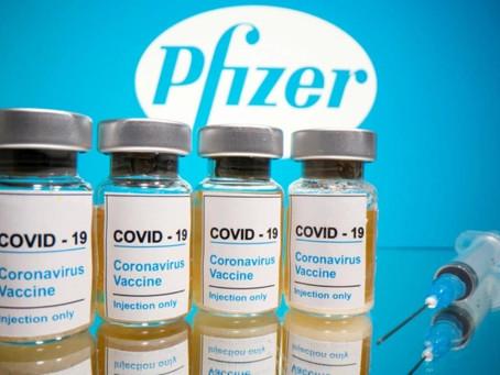 Vacina da Pfizer tem eficácia de 85% após a 1ª dose e pode ficar em freezers comuns