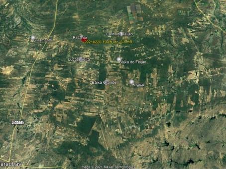 Tremores de terra são registrados em Jandaíra e Caraúbas