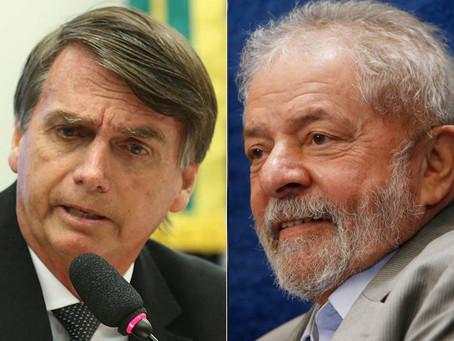 Bolsonaro lidera pesquisa e venceria Lula, Ciro ou Doria em 2° turno