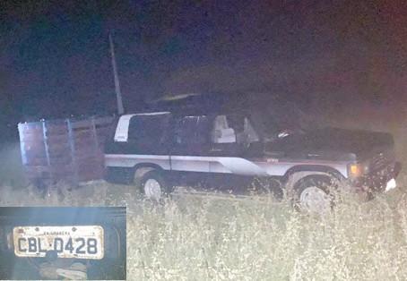 Trio é preso em flagrante tentando furtar animais na zona rural de Campo Grande/RN