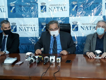 Prefeito de Natal critica Governo do RN e anuncia novos leitos de UTI