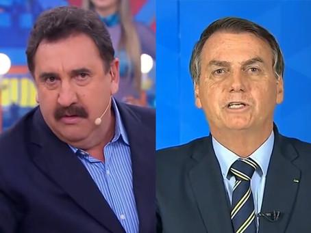 Ratinho defende Bolsonaro e afirma que imprensa tenta derrubar o governo