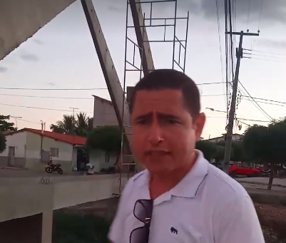 VÍDEO: Obra da ponte do Riacho do Meio em Pau dos Ferros está abandonada