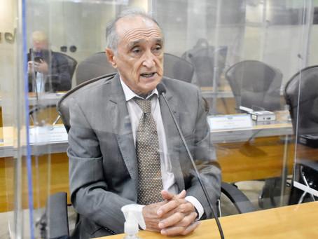 Getúlio Rêgo testa positivo para a covid-19