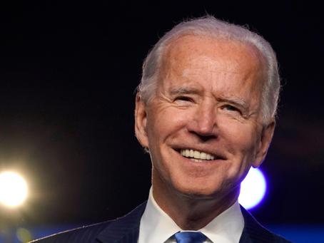 Joe Biden é o novo presidente dos Estados Unidos