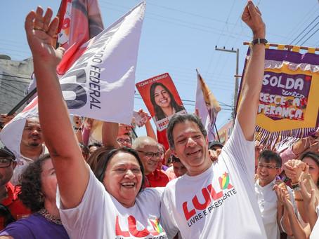 Haddad coloca Fátima como opção do PT para Presidência em 2022