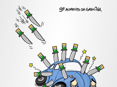 Charge do dia | Gasolina cara - 12/08