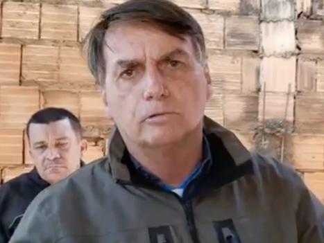 Bolsonaro chama Doria de 'patife' e afirma que governador quer quebrar o Brasil