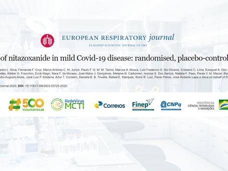 Covid-19: Revista científica confirma que Nitazoxanida reduz carga viral