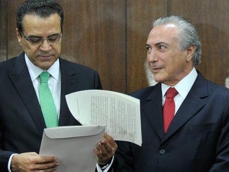 Henrique, Temer e Cunha são absolvidos em processo do 'quadrilhão' do MDB