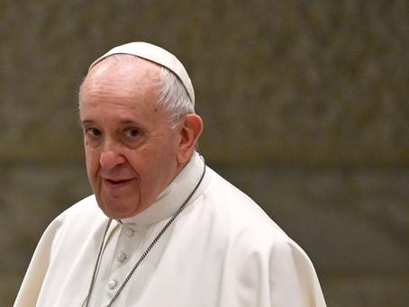 Segundo fontes do Vaticano, o Papa Francisco vai renunciar ao cargo depois do Natal