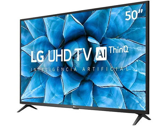"Smart TV UHD 4K LED 50"" LG 50UN7310PSC Wi-Fi - Bluetooth Inteligência Artificial"